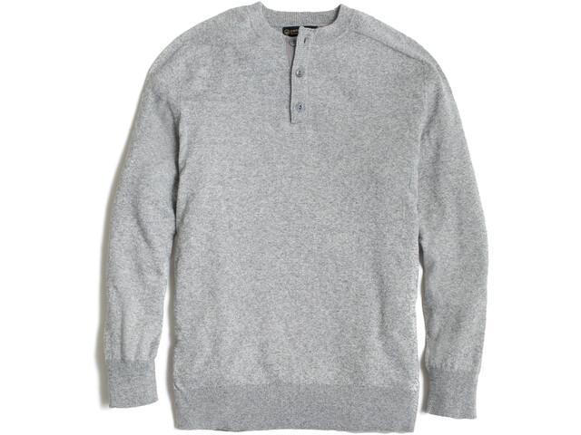United By Blue Merino Blend Henley sweater Herrer, grå